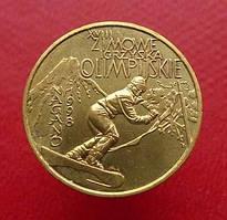 Польща 2 злотих 1998 Спорт, Зимові ОІ в Нагано
