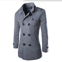 Мужское демисезонное пальто. Модель М28., фото 2