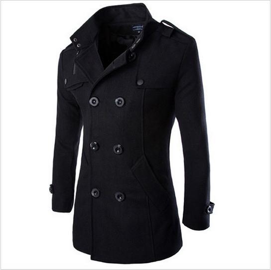 Мужское демисезонное пальто. Модель М28.
