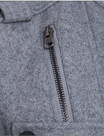 Мужское демисезонное пальто. Модель М28., фото 6