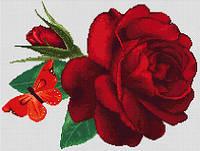 """Набор для вышивания крестиком (цветы) """"Роза"""""""