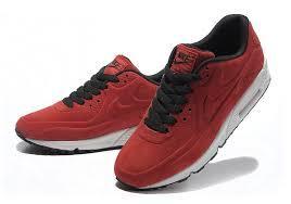 0e279606 Кроссовки Nike Air Max 90 VT Red Красные Женские Замш — в Категории ...