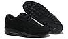 Кроссовки Nike Air Max 90 VT Black Черные женские Замш, фото 4