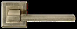 Дверные ручки LINDE A-2008 AB старая бронза