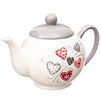 """Керамический заварочный чайник """"Love"""" 16,5х13 см"""