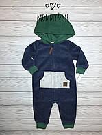 Комбинезон  флисовый для мальчика Carters 6м на рост 61-67 см