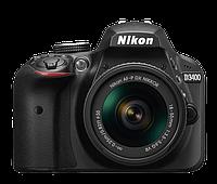 Зеркальный фотоаппарат Nikon D3400 kit (18-55mm VR) Black, фото 2