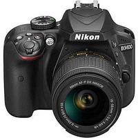 Зеркальный фотоаппарат Nikon D3400 kit (18-55mm VR) Black, фото 3