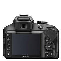 Зеркальный фотоаппарат Nikon D3400 kit (18-55mm VR) Black, фото 5