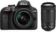 Зеркальный фотоаппарат Nikon D3400 kit (18-55mm VR) Black, фото 6