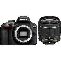 Зеркальный фотоаппарат Nikon D3400 kit (18-55mm VR) Black, фото 7