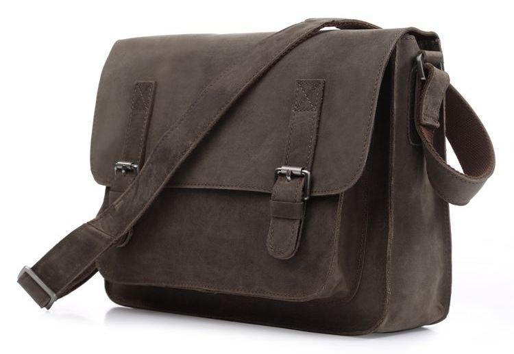 Сумка мужская Vintage 14097 Серая, Серый