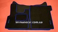 Автомобильные ковры в кабину для DAF XF 106 МКП с 2013  синий