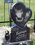 """Детские надгробия в Украине. Памятник для ребенка """"Сердце"""", фото 2"""