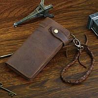 Мужской клатч Vintage 14383 из винтажной кожи Коричневый, Коричневый, фото 1