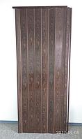 Дверь гармошка глухая 1000х2030х6мм Орех №7103, фото 1