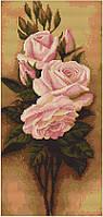 """Набор для вышивания крестиком (цветы) """"Розы"""""""