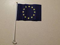 Флаг Европы в машину на присоске