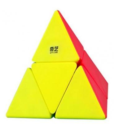 Пирамидка Рубика 2х2 piraminx (цветная) QiYi