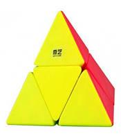 Пірамідка Рубіка 2х2 piraminx (кольорова) QiYi