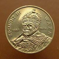 Польща 2 злотих 1998 Король Сигізмунд III Ваза