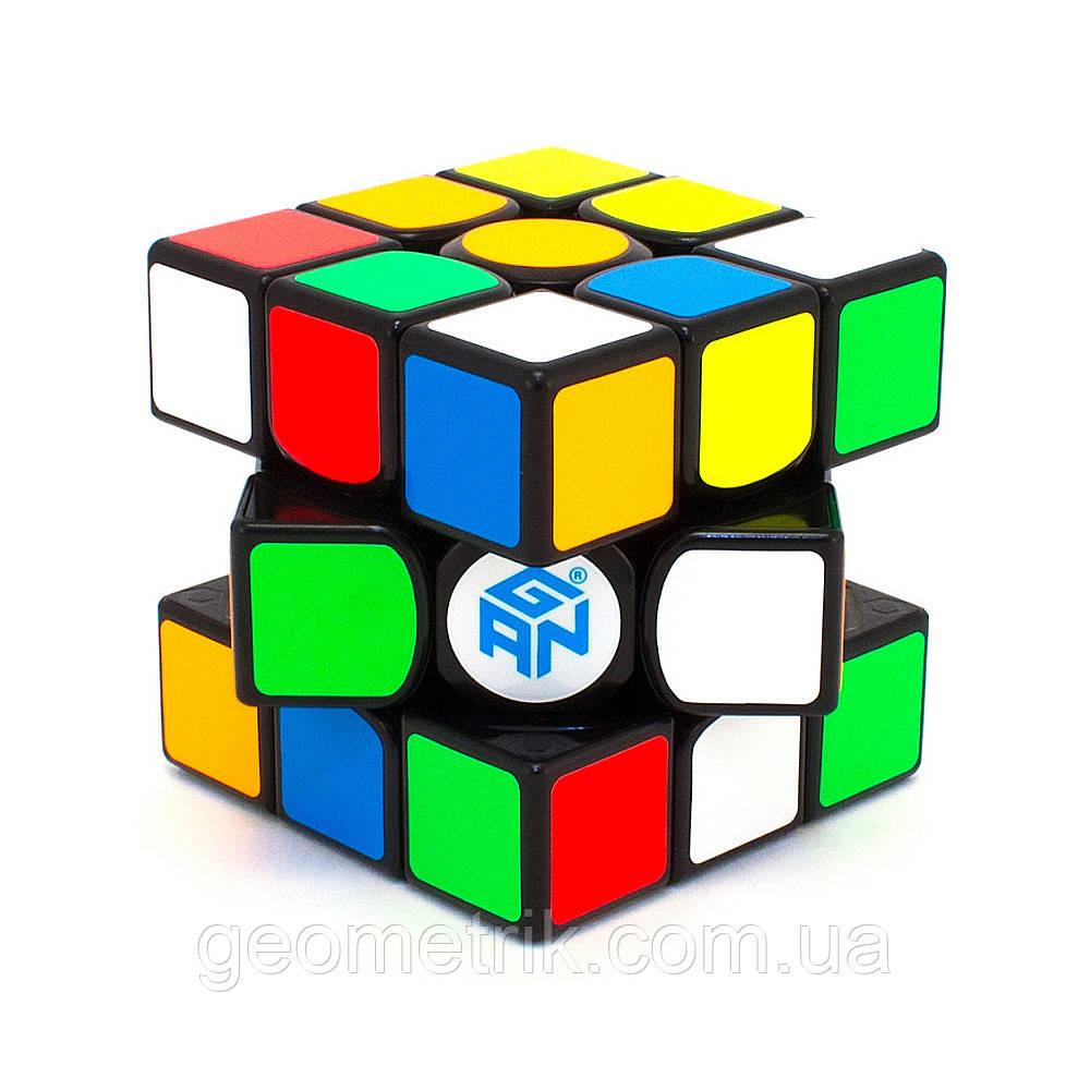 Кубик Рубіка 3х3 GAN 356 AIR SM 2019 version Чорний (+ мішечок)