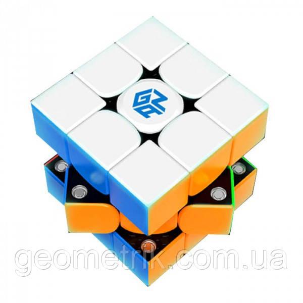 Кубик Рубика 3х3 GAN 356 X (Numerical IPG ) (цветной) + чехол