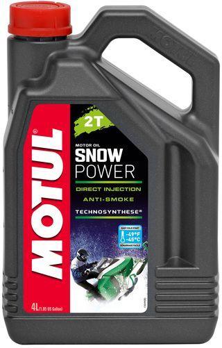 Масло MOTUL SNOWPOWER 2T 4л (101021/105888)