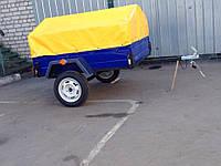 Прицеп бортовой 1600*1300 от завода-производителя, фото 1