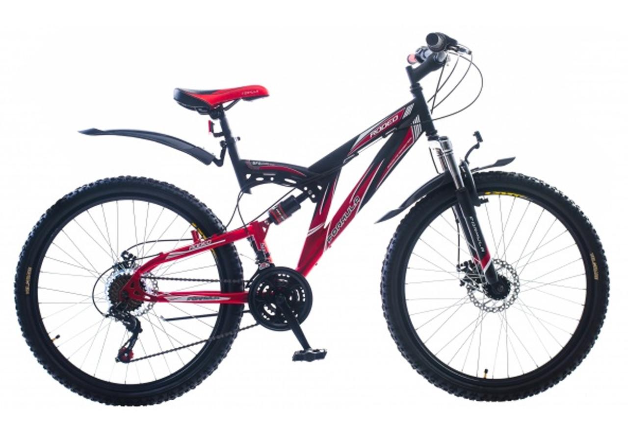 Велосипед спортивный с дисковыми тормозами Rodeo 26 дюймов