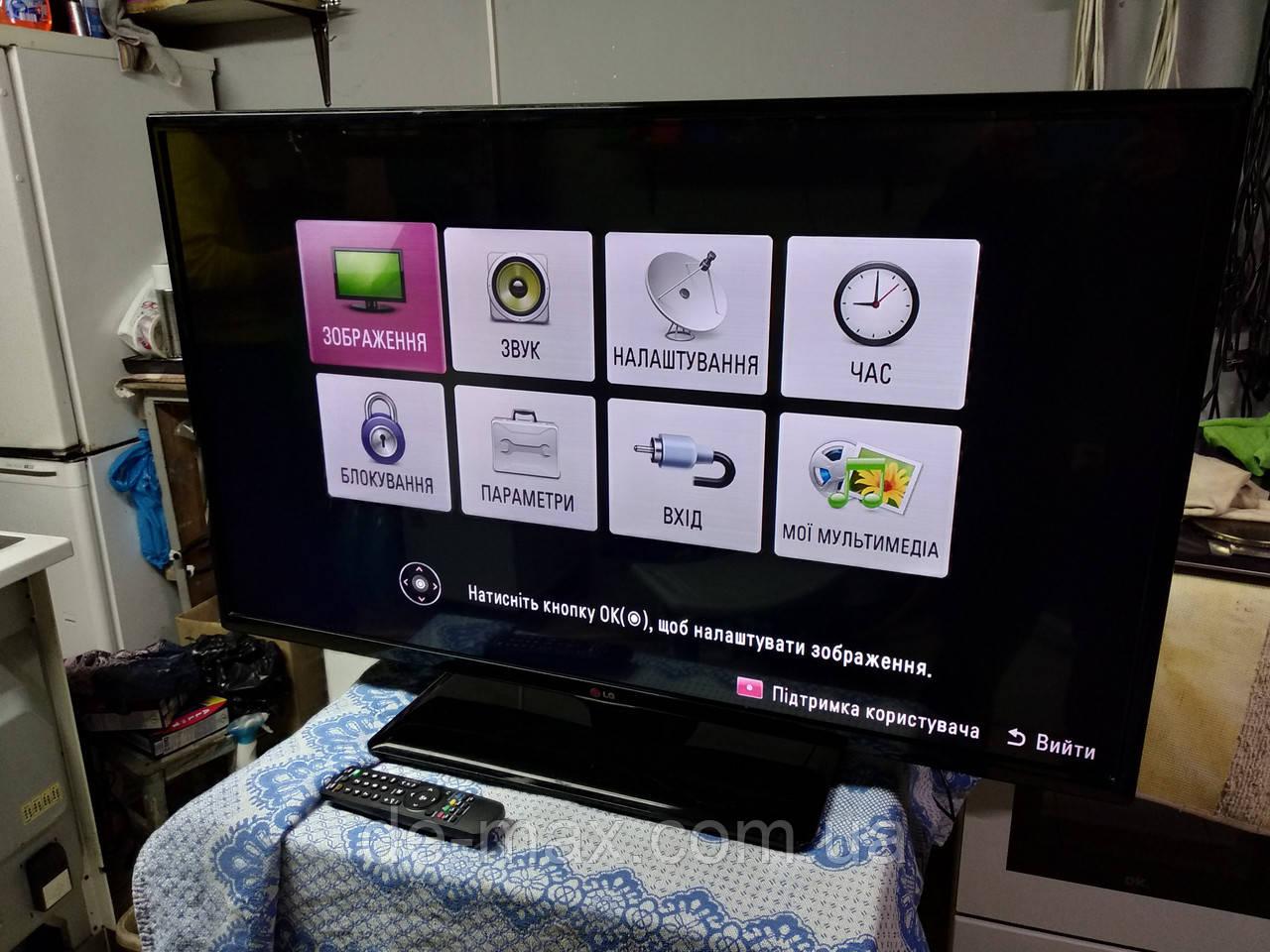 Телевизор 42 дюйма LG 42LN5204 1080p Full HD Direct LED DivX 100Гц