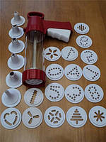 Экструдер кондитерский пластм.(24 насадки)(код 00451)