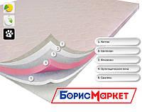 Тонкий ортопедический матрас (наматрасник) OrthoSlim2 Dz-mattress с ортопедической пеной