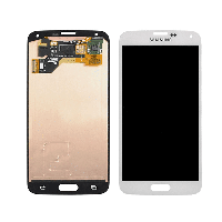 Дисплей модуль Samsung G900A Galaxy S5 в зборі з тачскріном, білий