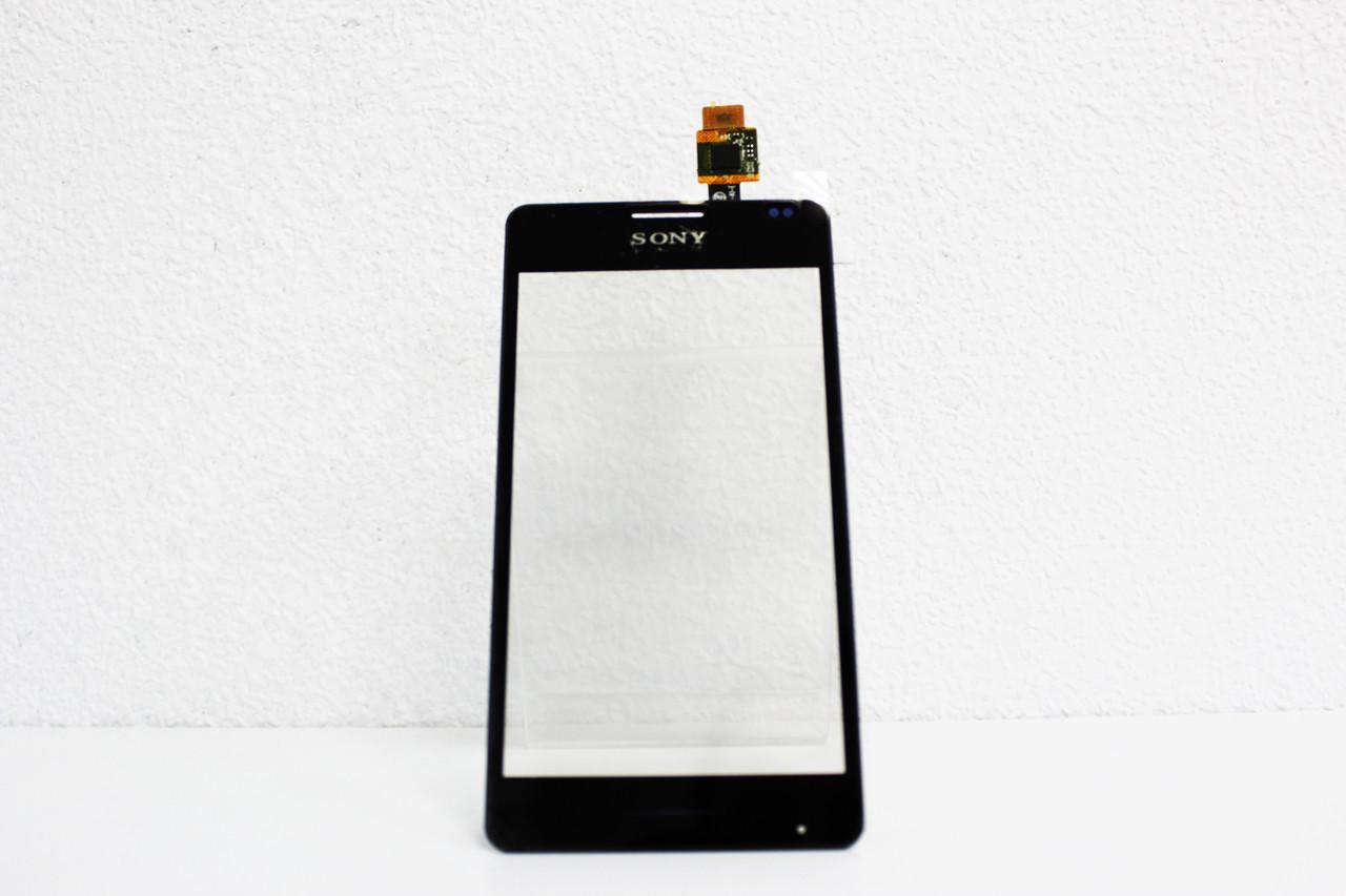 Сенсорний екран для смартфону Sony Xperia E1 D2004, D2005, D2104 DS, D2105 DS, D2114 TV, чорний