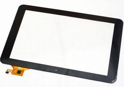 """Сенсорний екран для планшету Tablet PC 10.1"""", Ritmix RMD-1027, 10,1"""", 159x259mm, 12pin, чорний"""