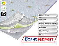 Тонкий ортопедический матрас (наматрасник) OrthoSlim4 Dz-mattress для устранения дефектов спального места
