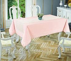 Скатертина 160х220 Tabe Joie Collection Pink