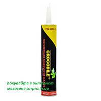 Клей герметик для вклейки стекол Crocodile PU 200.1 ( Крокодил ) 310 мл., фото 1