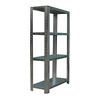 Стеллаж металлический  с полками 1150*500 мм для склада, хозяйства, гаража, балкона, подвала