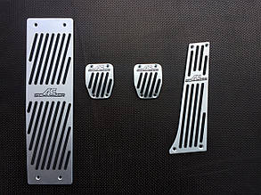 Накладки на педали автомобиля BMW (AC Schnitzer)