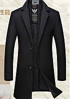 Мужское пальто. Модель 61772, фото 4