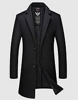Мужское пальто. Модель 61772, фото 3