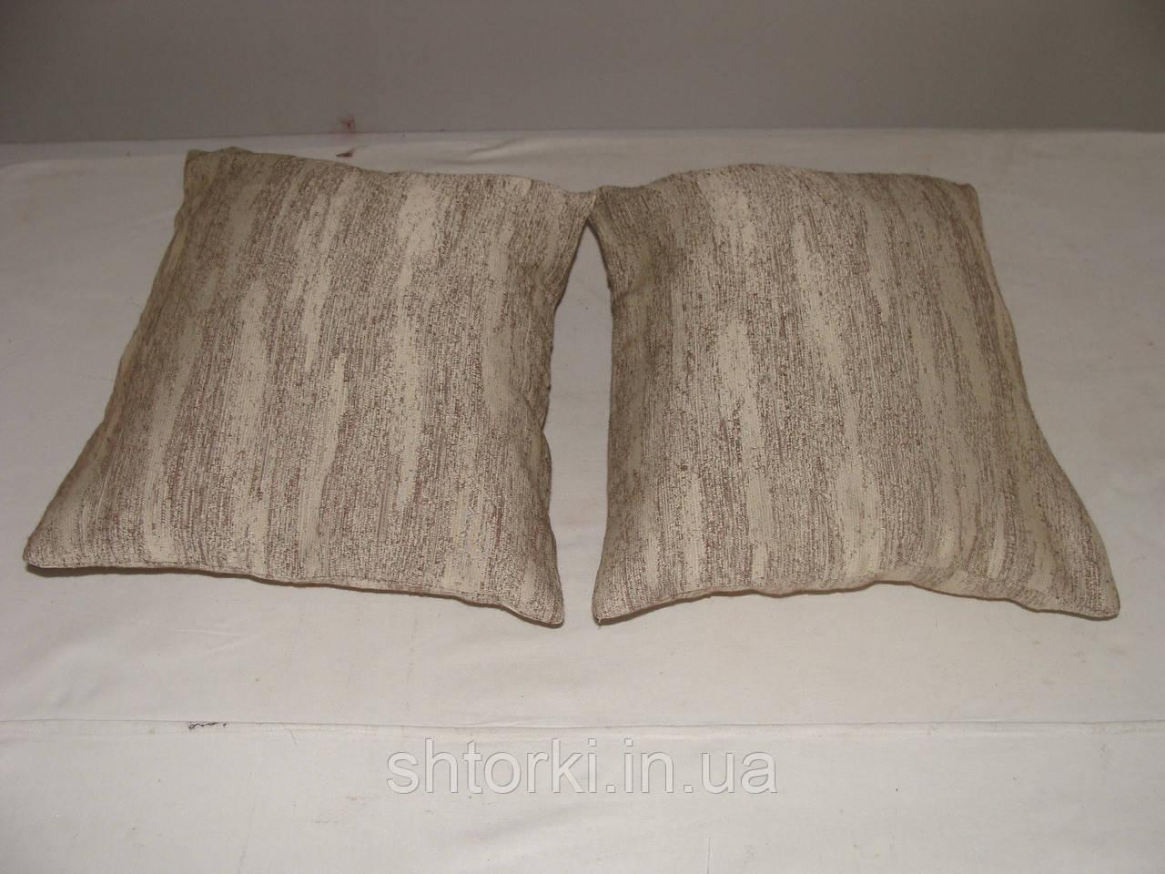 Комплект подушек  Короед беж , 2 шт 35х25