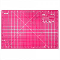 """Коврик для пэчворка Olfa Cutting Mat Pink 12"""" x 18"""" 30см х 45см, фото 1"""