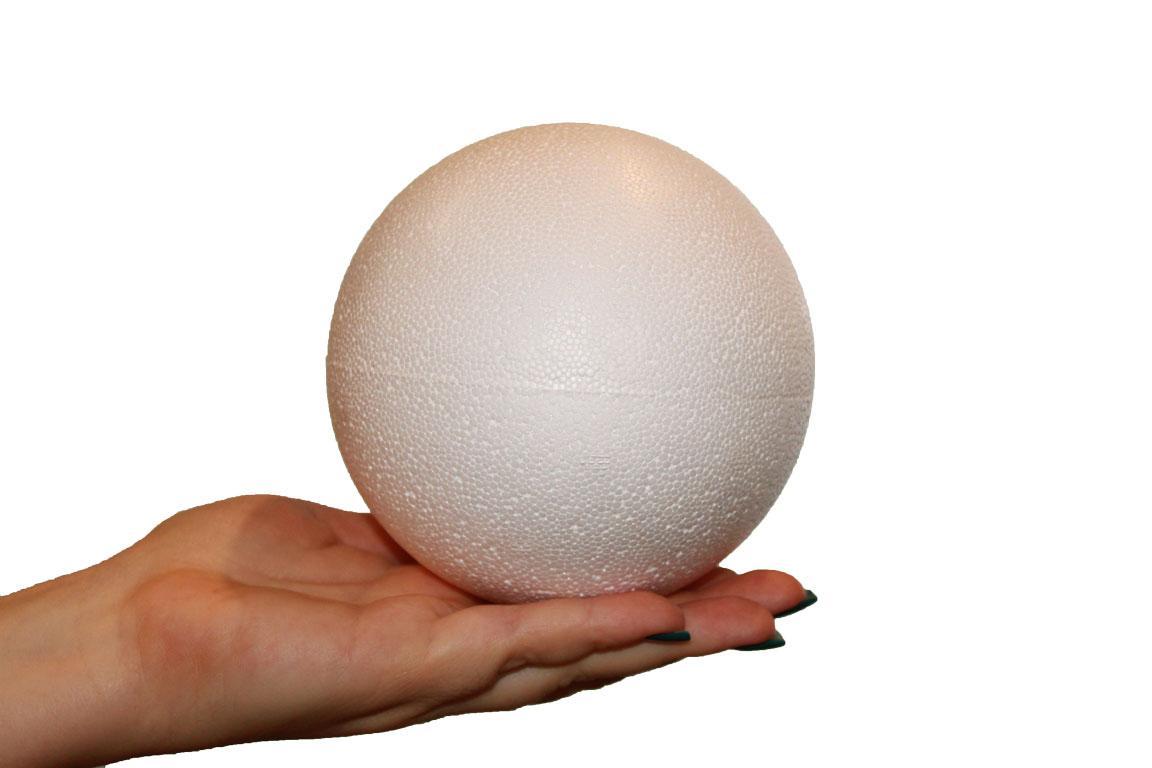 Шар пенопластовый диаметр 12 см