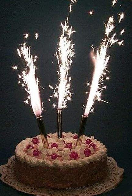 Свечи тортовые феерверк 6шт 12см.(код 01006)