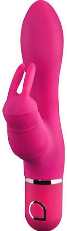 Rabbit вибратор Abia Delphyne, розовый, фото 2