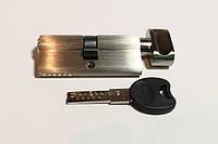 Циліндрові механізми PALADII ST 90мм (Т35*55) SN 5 кл з вертушком.проф. сатен, фото 1
