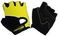 Перчатки детские без пальцев In Motion NC-1295-2010 жёлтые L